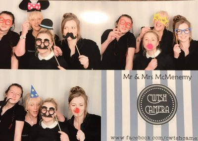team photo booth