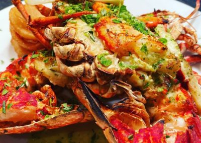 Cardigan Bay Lobster Cooked